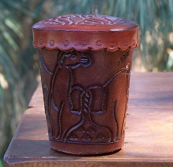 Peruvian Dice Cup from Nose-N-Toes